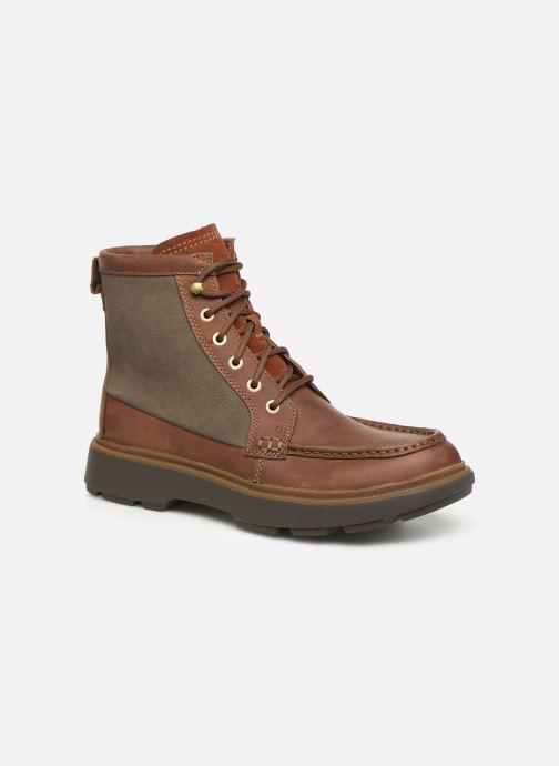 Bottines et boots Clarks Dempsey Peak Marron vue détail/paire