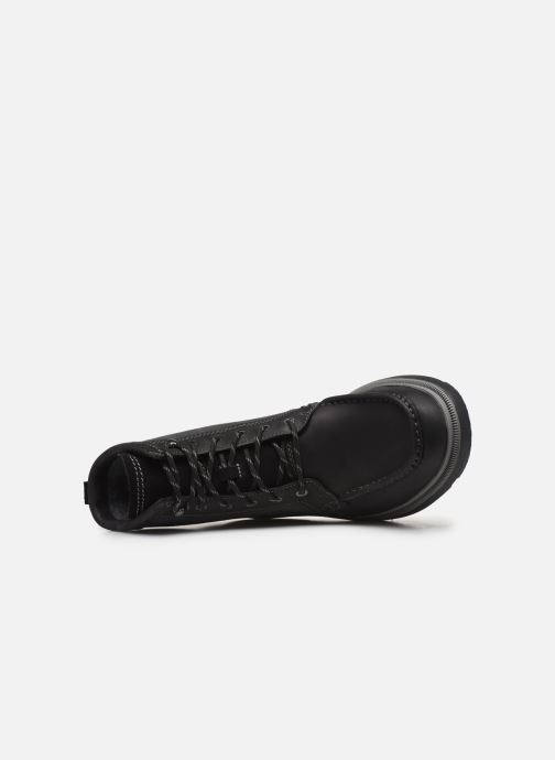 Ankle boots Clarks Dempsey Peak Black view from the left