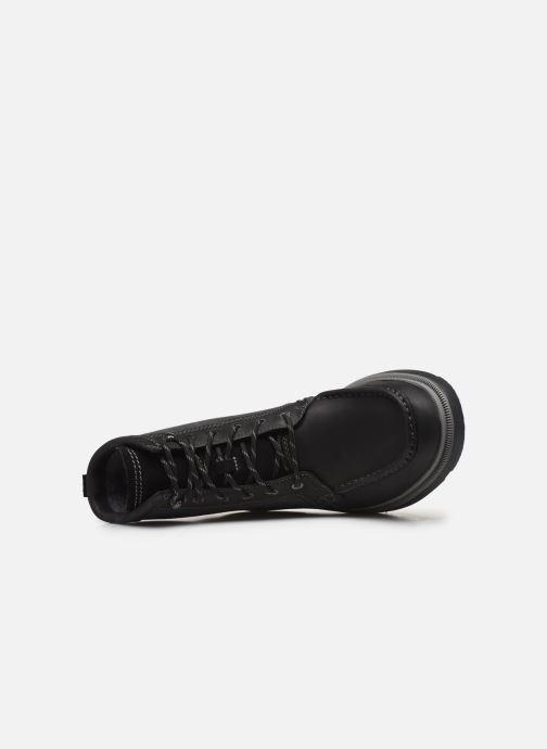 Bottines et boots Clarks Dempsey Peak Noir vue gauche