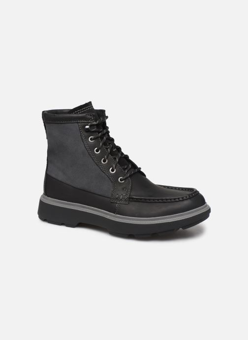 Ankle boots Clarks Dempsey Peak Black detailed view/ Pair view
