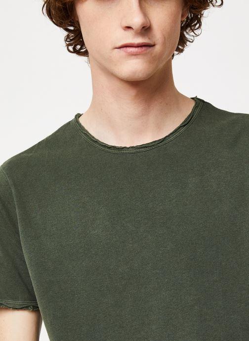 Vêtements Only & Sons Onsalbert Tee Vert vue face