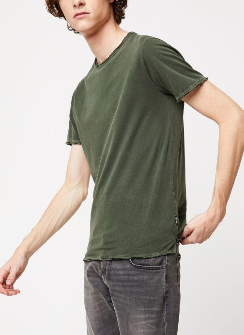 Vêtements Only & Sons Onsalbert Tee Vert vue droite