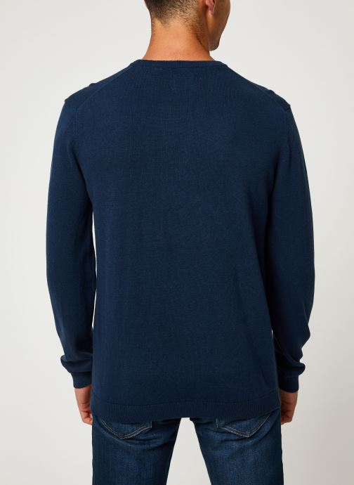 Vêtements Only & Sons Onsalex Knit Bleu vue portées chaussures