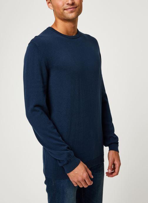 Vêtements Only & Sons Onsalex Knit Bleu vue détail/paire
