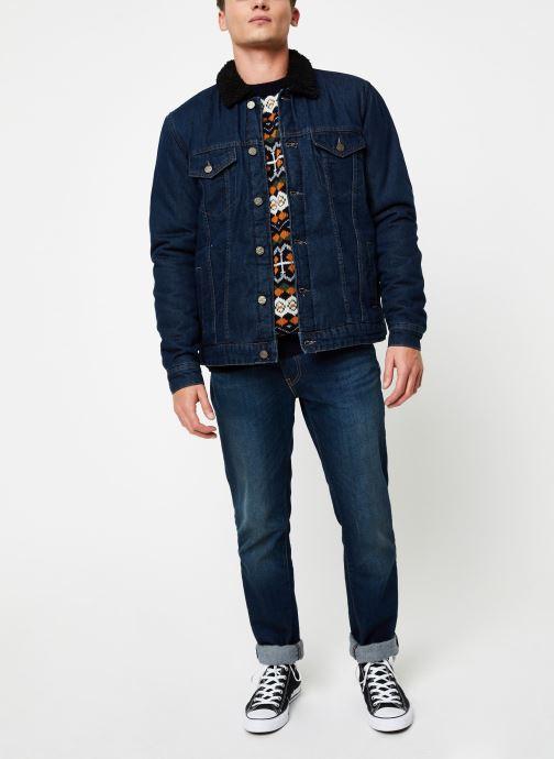 Vêtements Only & Sons Onslouis Jacket Bleu vue bas / vue portée sac