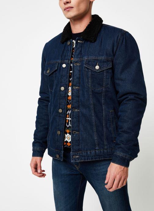 Vêtements Only & Sons Onslouis Jacket Bleu vue droite