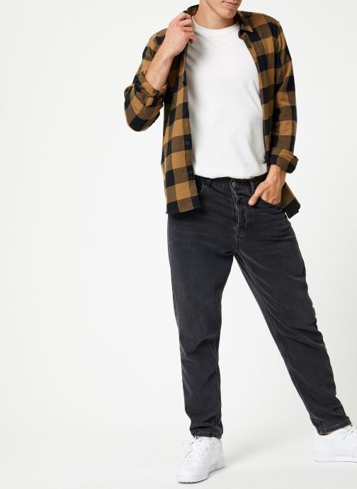 Vêtements Only & Sons Onsgudmund Shirt Marron vue bas / vue portée sac