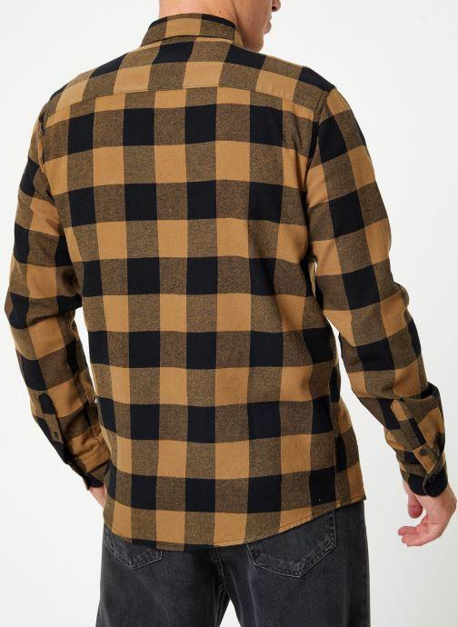 Vêtements Only & Sons Onsgudmund Shirt Marron vue portées chaussures