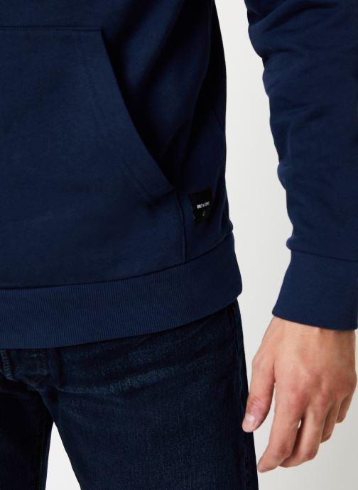 Vêtements Only & Sons Onswagner Sweat Hoodie Bleu vue face