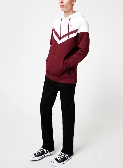 Vêtements Only & Sons Onswagner Sweat Hoodie Vert vue bas / vue portée sac