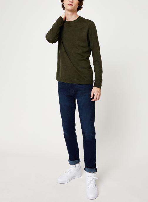 Vêtements Only & Sons Onstyler Knit Vert vue bas / vue portée sac