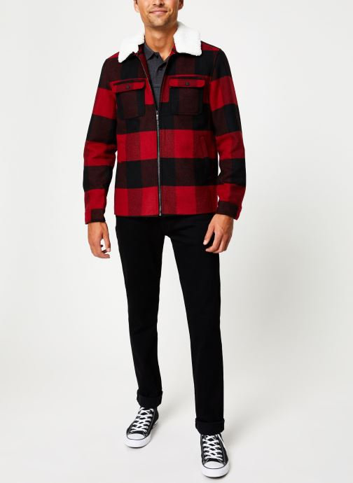 Vêtements Only & Sons Onsross Jacket Rouge vue bas / vue portée sac