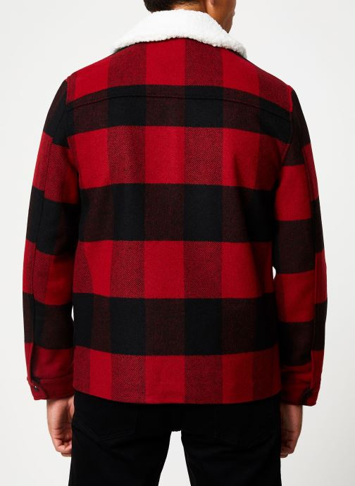 Vêtements Only & Sons Onsross Jacket Rouge vue portées chaussures