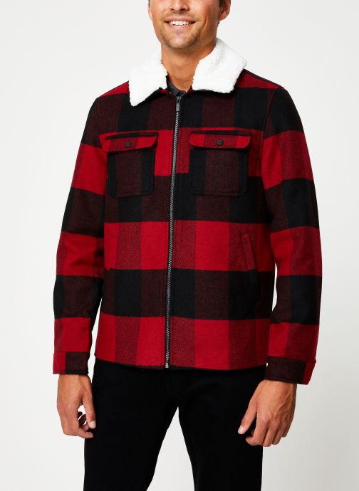 Vêtements Only & Sons Onsross Jacket Rouge vue droite