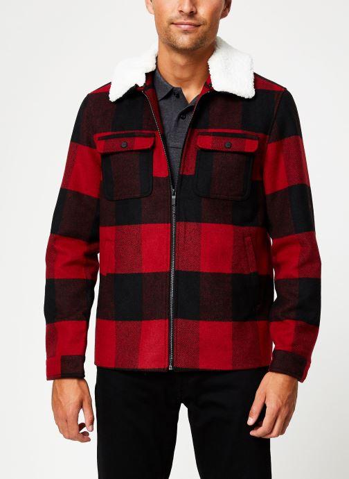 Vêtements Only & Sons Onsross Jacket Rouge vue détail/paire