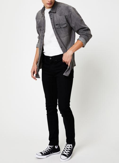 Vêtements Only & Sons Onsodin Denim Shirt Bleu vue bas / vue portée sac
