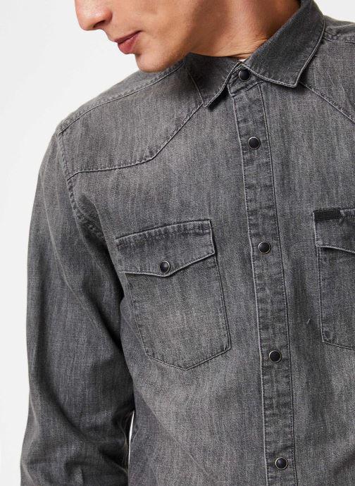 Vêtements Only & Sons Onsodin Denim Shirt Bleu vue face