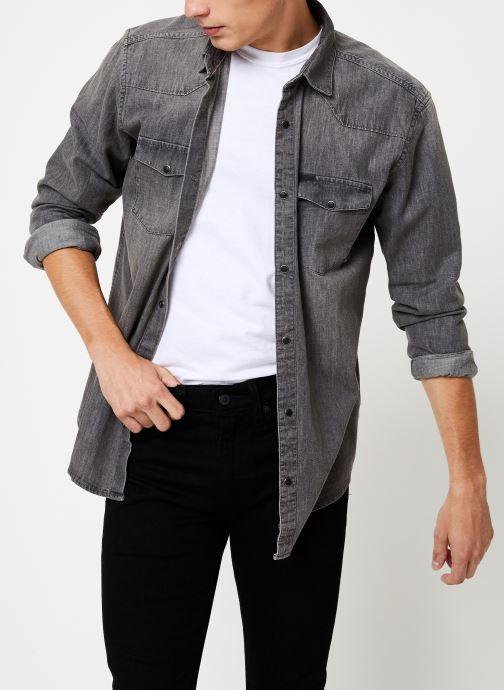 Vêtements Only & Sons Onsodin Denim Shirt Bleu vue droite