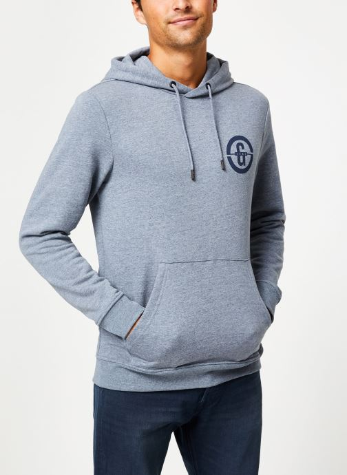 Vêtements Only & Sons Onsorlando Sweat Hoodie Bleu vue détail/paire