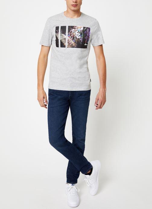 Vêtements Only & Sons Onsbernie Tee Gris vue bas / vue portée sac