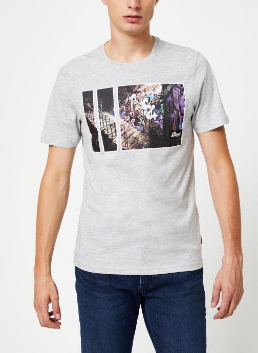 Vêtements Only & Sons Onsbernie Tee Gris vue détail/paire
