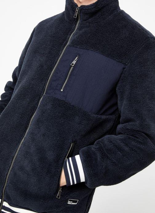 Vêtements Only & Sons Onsian Sherpa Bleu vue face