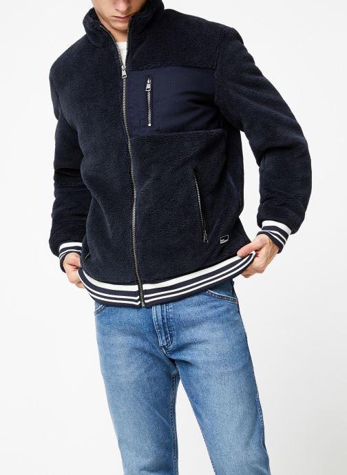 Vêtements Only & Sons Onsian Sherpa Bleu vue droite