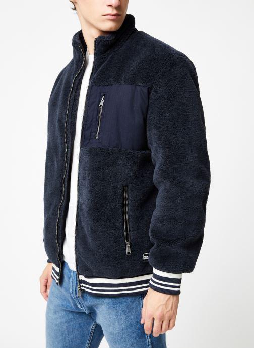 Vêtements Only & Sons Onsian Sherpa Bleu vue détail/paire