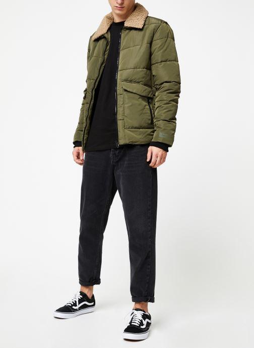 Vêtements Only & Sons Onsshore Jacket Vert vue bas / vue portée sac
