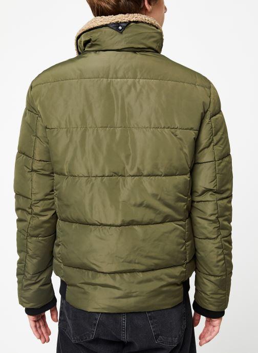 Vêtements Only & Sons Onsshore Jacket Vert vue portées chaussures