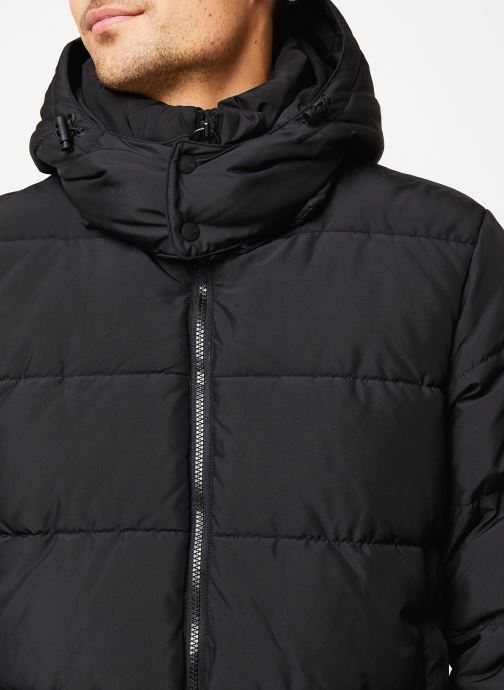 Vêtements Only & Sons Onsgrant Puffa Jacket Noir vue face