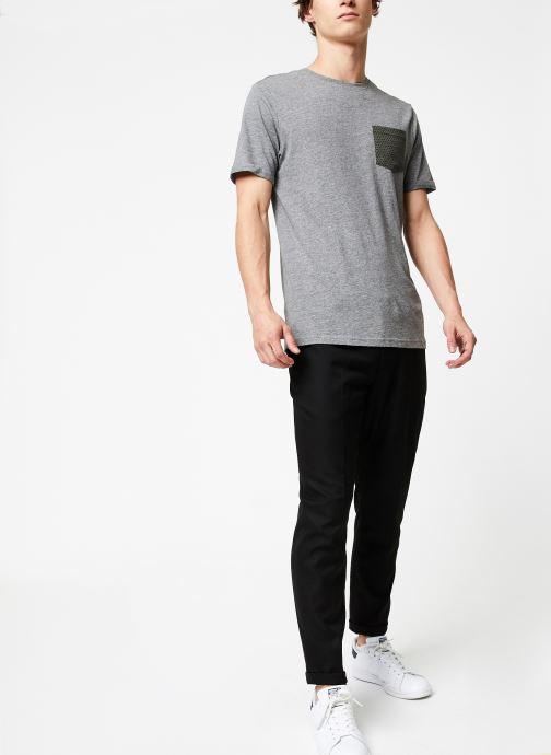 Vêtements Only & Sons Onstituz Tee Gris vue bas / vue portée sac