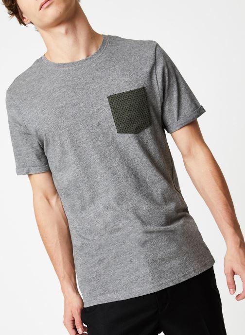 Vêtements Only & Sons Onstituz Tee Gris vue détail/paire