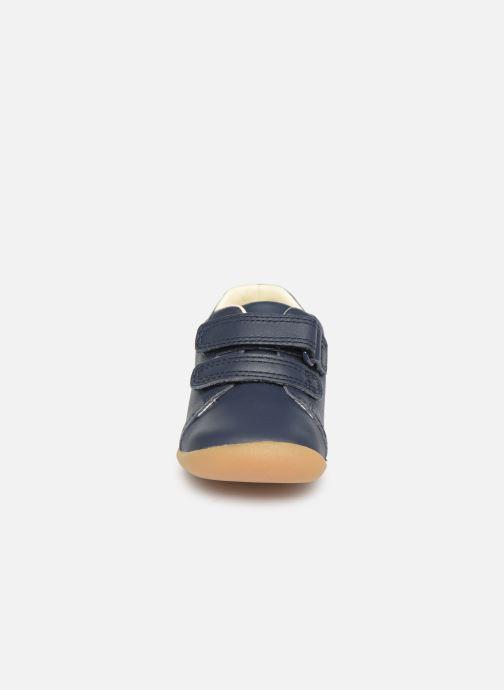 Baskets Clarks Roamer Craft T Bleu vue portées chaussures
