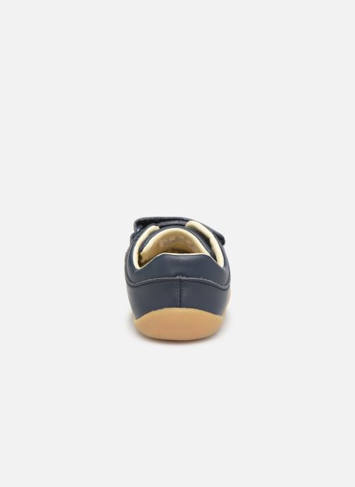 Baskets Clarks Roamer Craft T Bleu vue droite