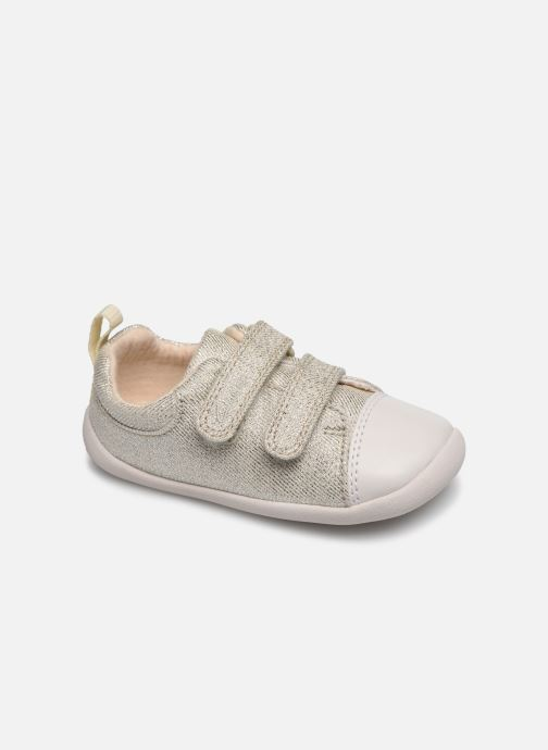Baskets Clarks Roamer Craft T Gris vue détail/paire