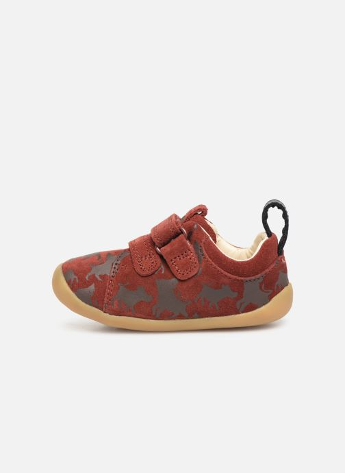 Trainers Clarks Roamer Wild x Lion King Red front view