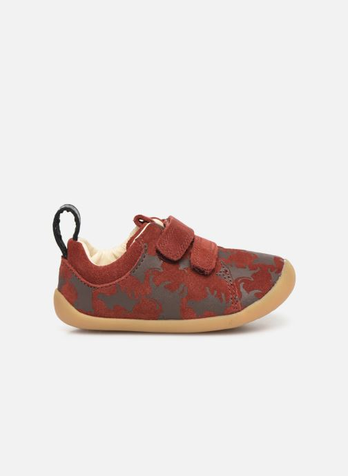 Trainers Clarks Roamer Wild x Lion King Red back view