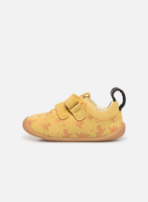Sneakers Clarks Roamer Wild x Lion King Giallo immagine frontale