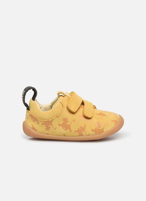 Sneakers Clarks Roamer Wild x Lion King Giallo immagine posteriore