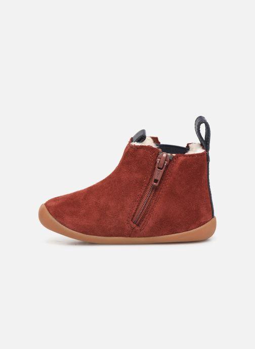 Boots en enkellaarsjes Clarks Roamer Free T Rood voorkant