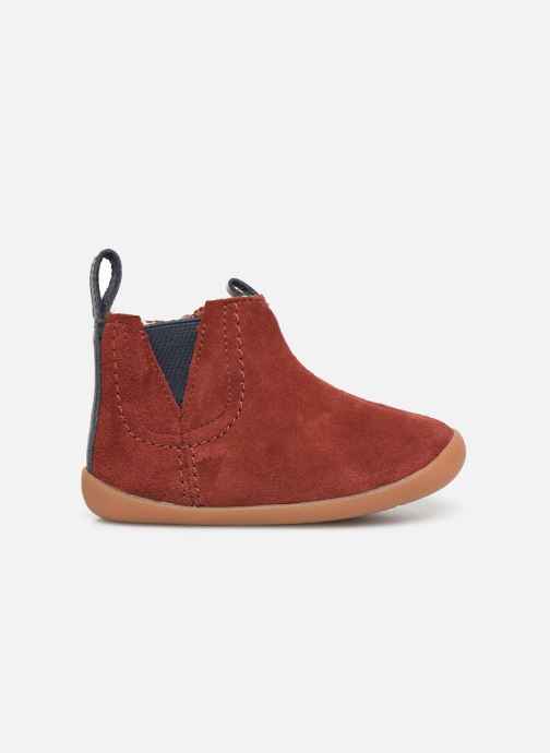 Boots en enkellaarsjes Clarks Roamer Free T Rood achterkant