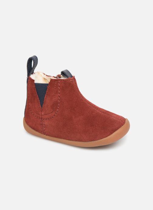 Boots en enkellaarsjes Clarks Roamer Free T Rood detail