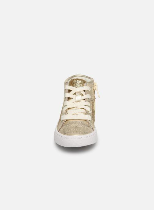 Baskets Clarks City Oasis HT Or et bronze vue portées chaussures