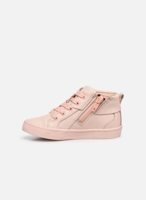 Trainers Clarks City Oasis HT Pink front view