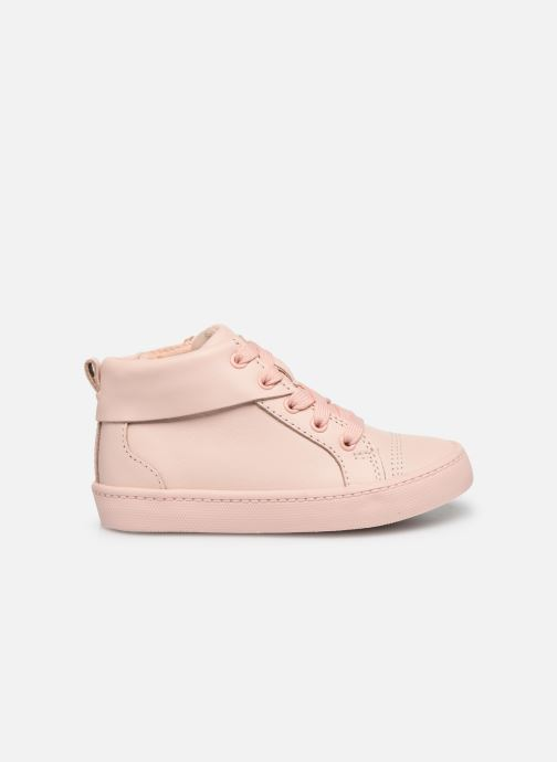 Trainers Clarks City Oasis HT Pink back view