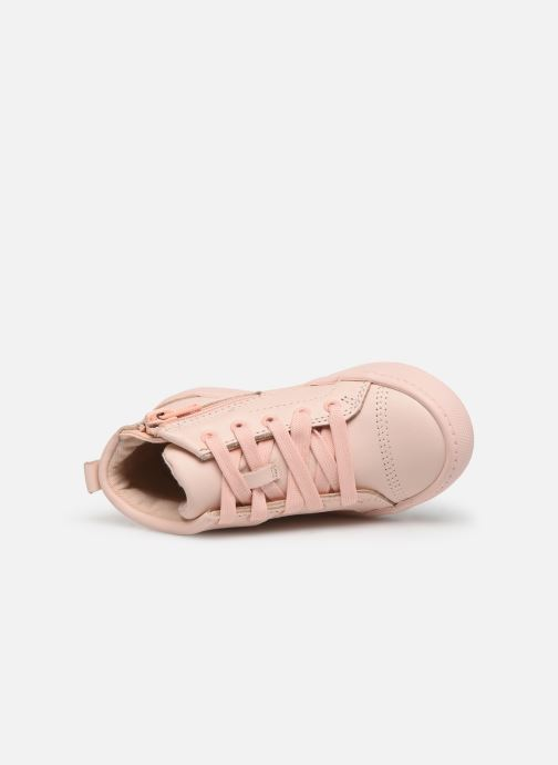 Trainers Clarks City Oasis HT Pink view from the left