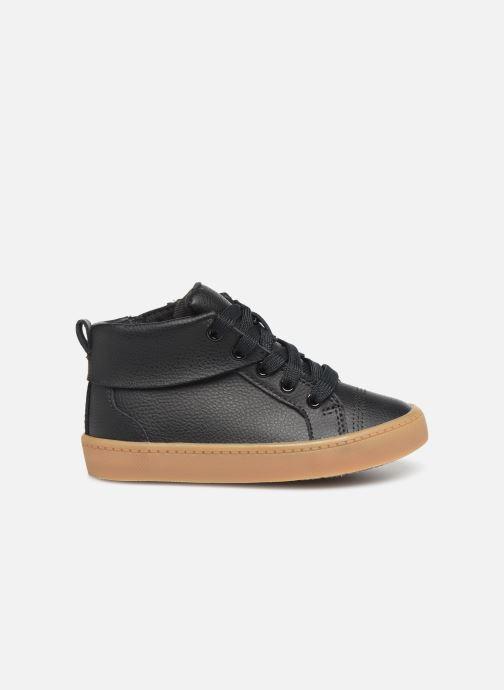 Sneaker Clarks City Oasis HT schwarz ansicht von hinten