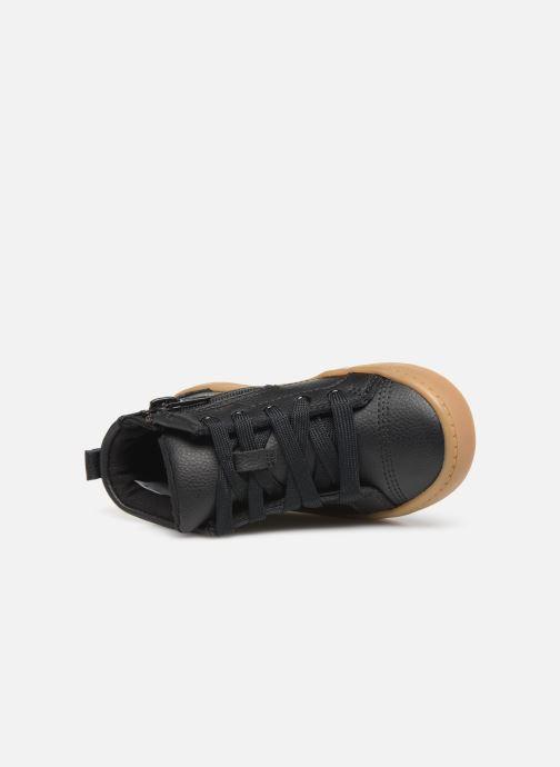 Sneaker Clarks City Oasis HT schwarz ansicht von links