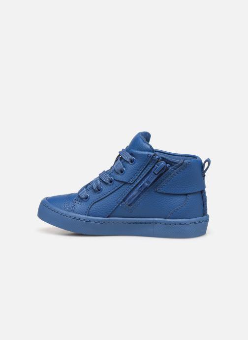 Sneakers Clarks City Oasis HT Azzurro immagine frontale